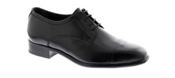 Tim Shoe - The Tim is a 4 hole derby style lace up shoe with toe cap made from full grain leather available in black, brown and light brown colours and a range of sizes from 5 – 12.