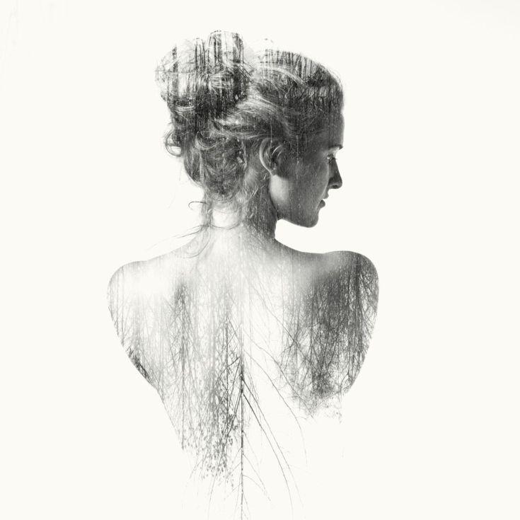 ARTFINDER: Judith II  1/30 by Laurence Winram - part of my exhibited double exposure nudes Shadow series