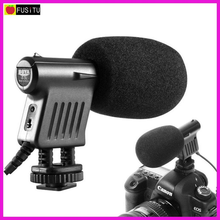 Boya BY-VM01 Professional Video Broadcast Directional Condenser Microphone for Nikon Canon Sony Penta Gopro Cameras //Price: $49.90 & FREE Shipping //     #GAMES