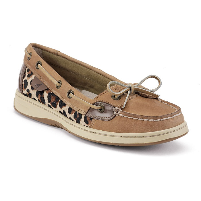 Sperrys and Cheetah print...what more could a girl want?: Boat Shoe, Leopard Print