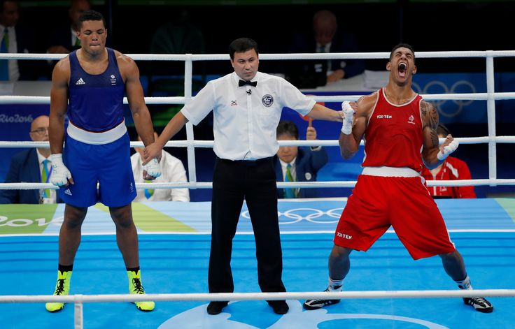 The Olympic Games 2016 by Tom Jenkins. Joe Joyce, GB - Silver (should have been Gold)