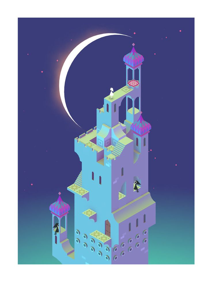 MOON | iam8bit from  Monument Valley