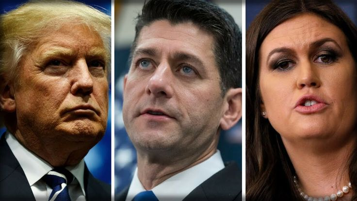 SARAH SANDERS REVEALS WHAT TRUMP TOLD PAUL RYAN FOLLOWING REPORTS OF HIS...
