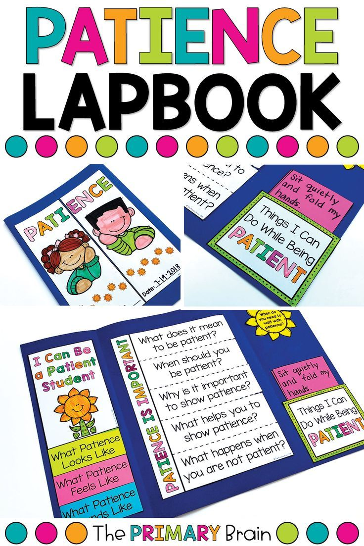 Patience Lessons For Kids Are So Important Teach Patience To Kids Through This Fun Lapbook T Character Education Character Education Lessons Learning Patience [ 1103 x 736 Pixel ]
