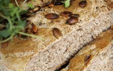 Rågbröd med timjan och pumpakärnor