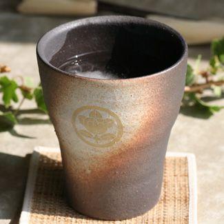 信楽焼「戦国武将」家紋入りフリーカップ