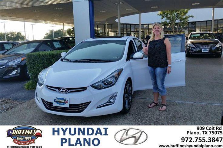 Congratulations to Anne Rowan on your #Hyundai #Elantra purchase from Jonathan  Cruz at Huffines Hyundai Plano! #NewCar