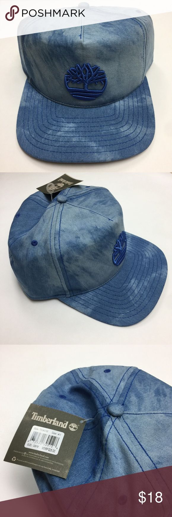 Timberland Denim Baseball Cap 🌷Please Read the description! Thanks!🌷  Brand new with tag Size: OS Retail: $25 Color may be slightly  different bcz of lighting  🌷Price is FIRM unless bundled 🌷NO Trades         🌷NO Holds 🌷All sales are final Timberland Accessories Hats