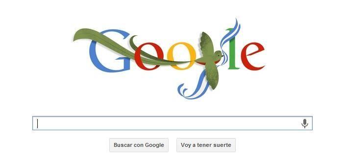 Doodle de Google de Guatemala 15 de Septiembre - Independencia de Guatemala...