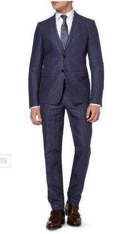Gray Groom's Suit