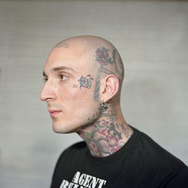 skinhead tattoos portrait image in the uk forward skinhead tattoo oi ...