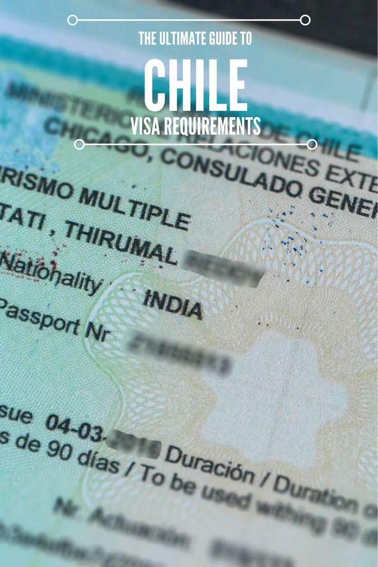 A comprehensive guide to Chile visa requirements