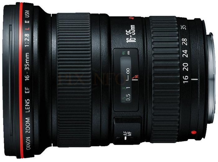 The 16 - 35 L lens is one of Canon's best lenses. Check this for other top Canon lenses.