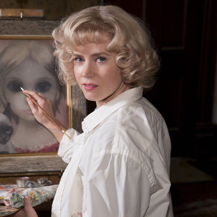 Pin for Later: Tim Burton's Latest Trailer: Amy Adams Paints the Big Eyes, but Christoph Waltz Takes the Credit