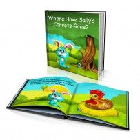 "Personalised Hard Cover Story Book:     ""Where Have my Carrots Gone?"" / Dinkleboo"
