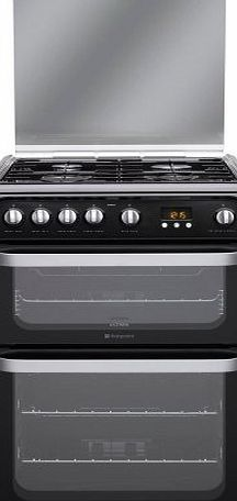 Hotpoint HUG61K Cooker Freestanding Gas Double Oven Black No description (Barcode EAN = 5016108624135). http://www.comparestoreprices.co.uk/december-2016-week-1/hotpoint-hug61k-cooker-freestanding-gas-double-oven-black.asp