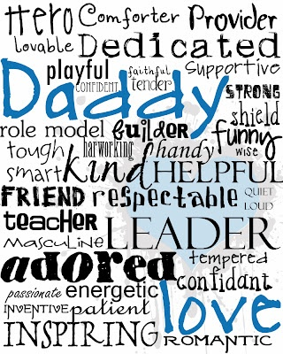 free father's day gift voucher template