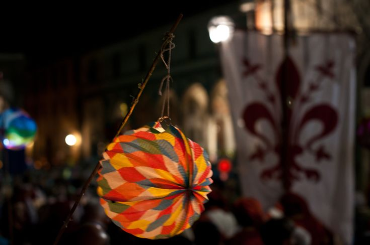 The Feast of Rificolona in Florence  Sunday, September 7, look up and discover the magic of lanterns