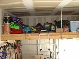 Mezzanine garage storage and garage on pinterest Garage storage mezzanine