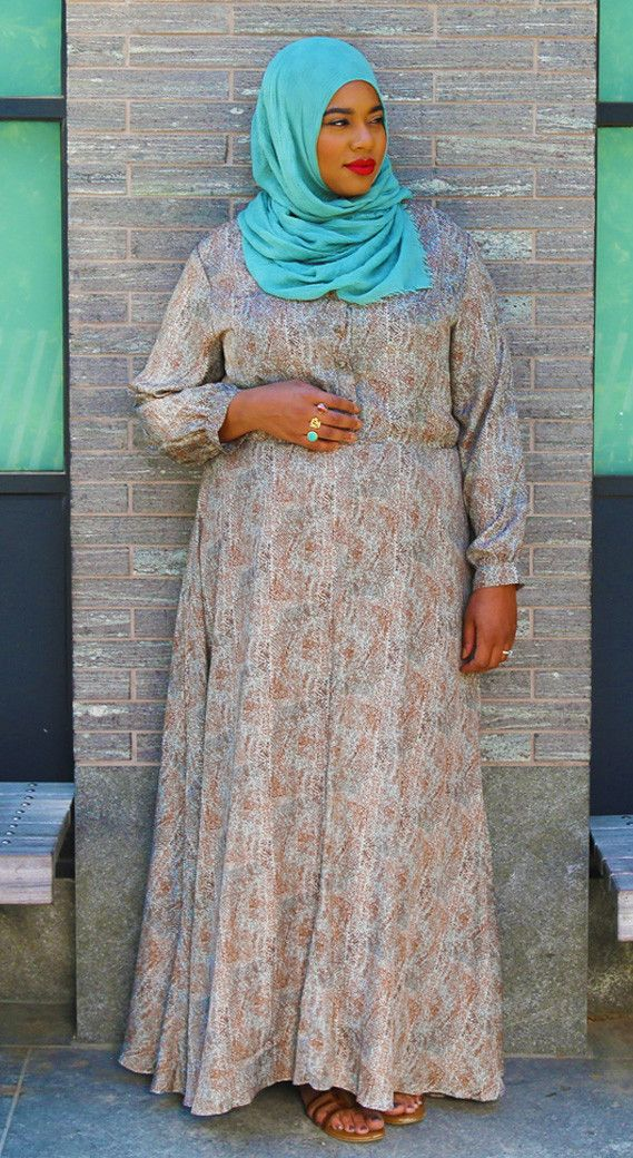 Plus Size Muslim Women Clothing - Styled by Zubaidah