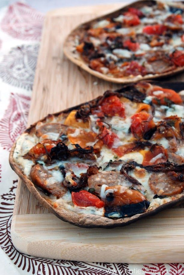 grilled flatbread with italian sausage