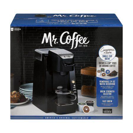 Mr. Coffee 24-oz Single Serve Coffee Maker, Bvmc-SC500-1, Black
