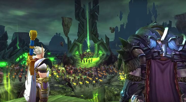 The New Blizzard's 'World of Warcraft: Legion' expansion with new class , dungeons For more: http://th3dailynews.blogspot.com/2015/08/the-huge-blizzards-world-of-warcraft.html