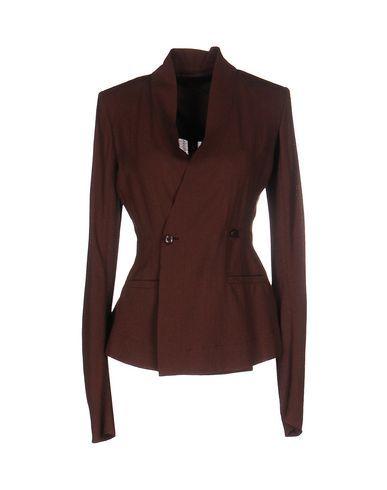 RICK OWENS Blazer. #rickowens #cloth #dress #top #skirt #pant #coat #jacket #jecket #beachwear #