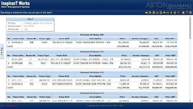 iHMS Customizable Reports iHMS is full of usefull premade reports and supports custom reports for your hotel management needs. PM for more Info.