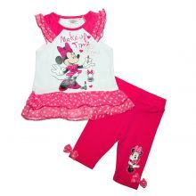 set bluza+colant minnie - roz