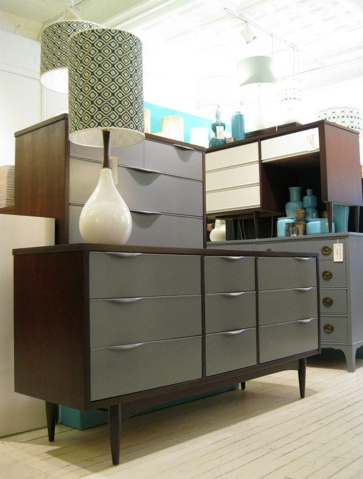 The White Attic - Cool ideas for refurbishing mid-century modern furniture pieces!
