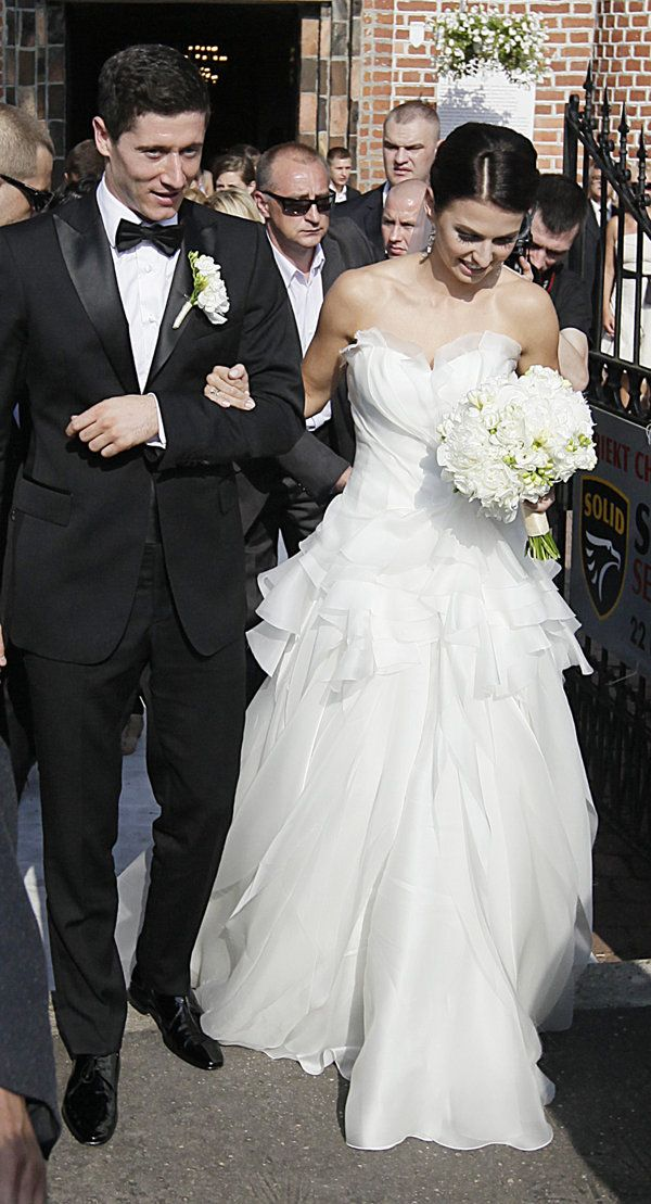 Poland Lewandowski Wedding | Football Photos - Yahoo! Eurosport UK