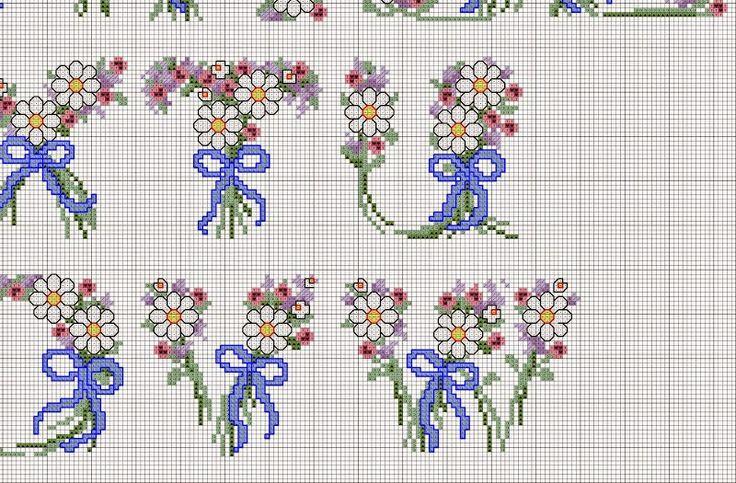 542 best alfabeti punto croce images on pinterest punto for Alfabeti a punto croce schemi gratuiti