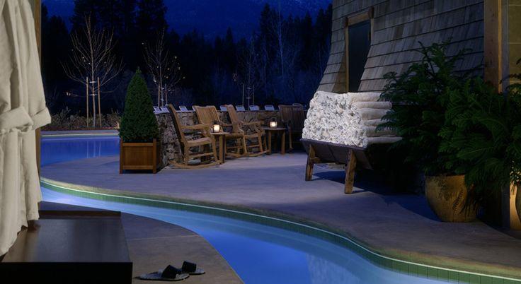 Inside to Outside Pool Access from the Stillwater Spa @ Hyatt Regency Lake Tahoe Resort Casino and Spa