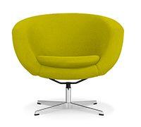 Fauteuil Iben Loung Chair - Style Valentino Boretti - Tissu pas cher