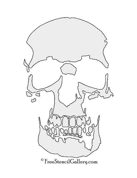image about Skull Stencils Free Printable titled skull stencils no cost - Yahoo Graphic Seem Good results stencils