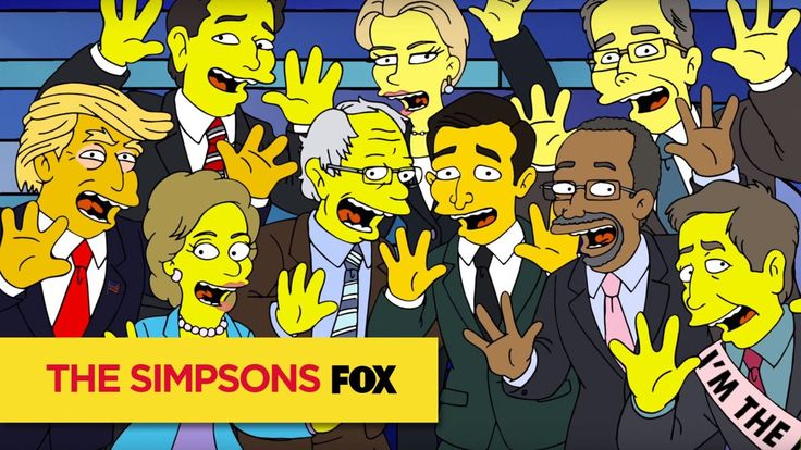 The Debateful Eight, Marge Simpson's Nightmare About the Top 2016 Presidential Candidates