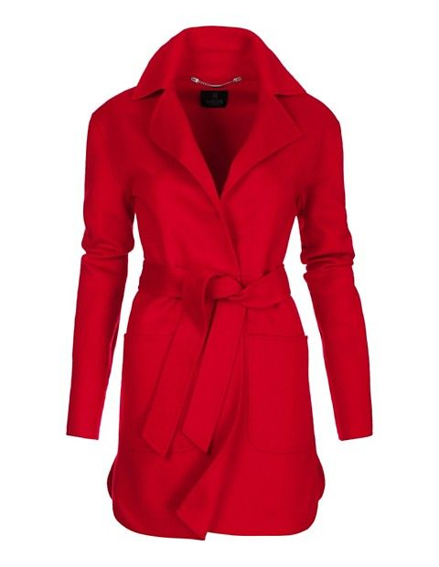 Kurzmantel aus reiner Wolle | MADELEINE Mode Schweiz