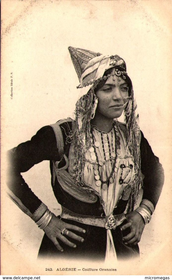 Algerie Coiffure Oranaise Algerie Africa African Vintage Portraits