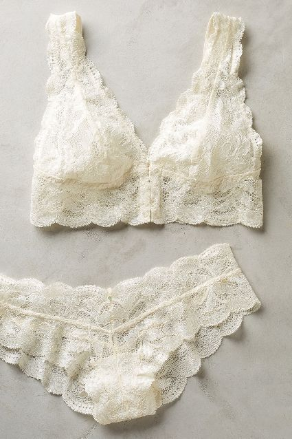 Clo Intimo Fortuna Long-Line Bralette - anthropologie.com #anthrofave