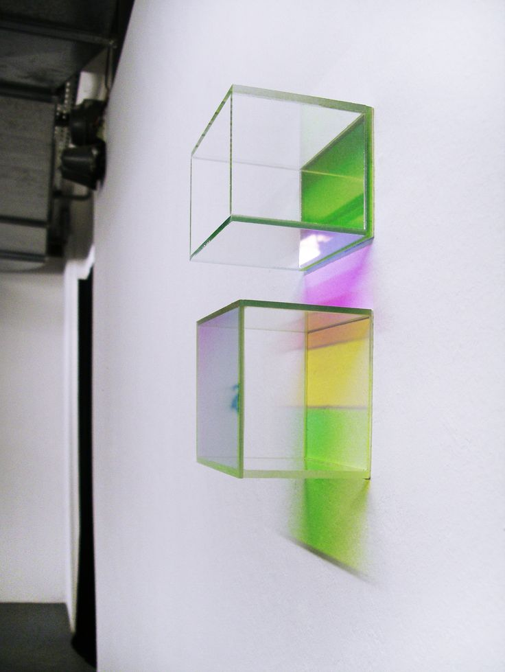 dichroic glass reflections