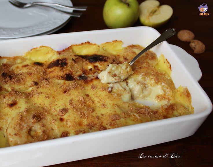 Le mele cotte con crema ed amaretti sono molto gradite sia dai grandi che dai bambini. Ottime servite come dessert o per una merenda golosissima.