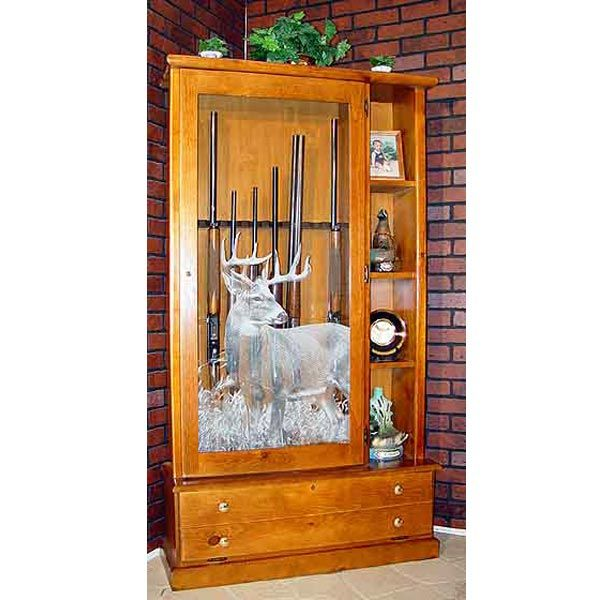 Display Gun Cabinet Woodworking Plans Woodworking