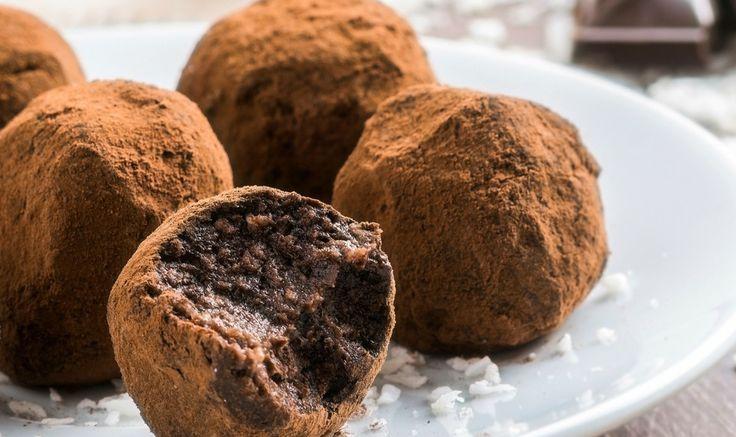 Рецепт - Веганские шоколадные конфеты