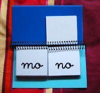 El baúl de A.L: Libro móvil de sílabas.
