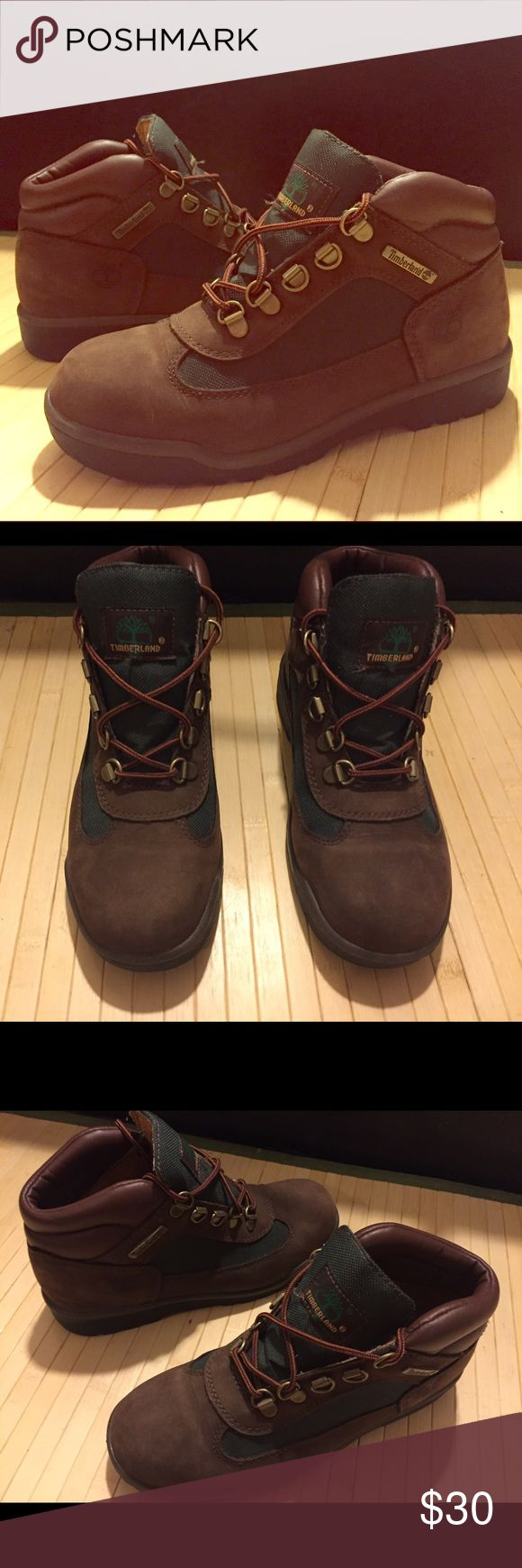 Size 4.5 - Brown/Olive Timberland Field Boots Size 4.5 - Brown/Olive Timberland Field Boots Timberland Shoes Boots