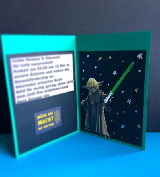 Idee Zur Einladung Für Eine Star Wars Party #kids #birthday #geburtstag Star  Wars