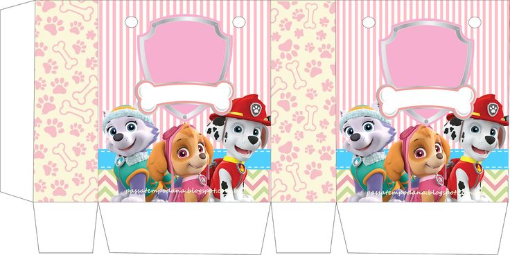 Paw Patrol For Girls Free Printable Kit