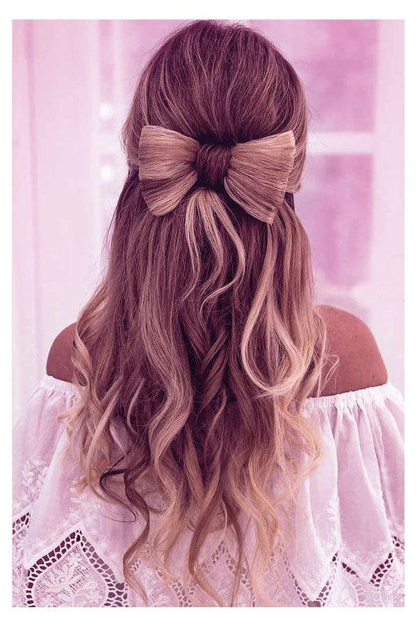 Hair Ideas For Church Long Hair Girl Cute Hairstyles For Medium Hair Long Hair Styles
