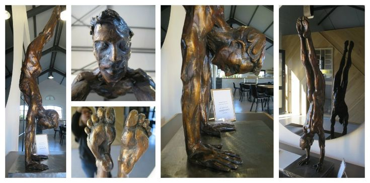 André Prinsloo (Sculptor) at Whalehaven Winery  Address: Hemel en Aarde Village Tel: 028 - 316 1633 Email: experience@whalehaven.co.za Visit: http://www.whalehavenwines.co.za/